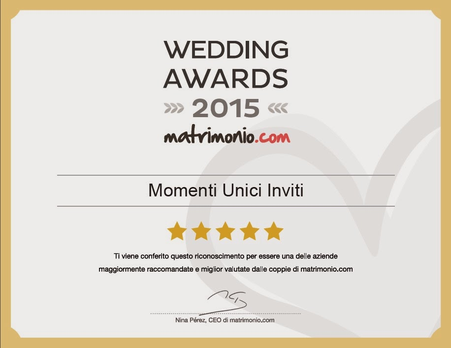 wedding%2Bawards%2B15 Abbiamo vinto il Premio Wedding Awards 2015Premi