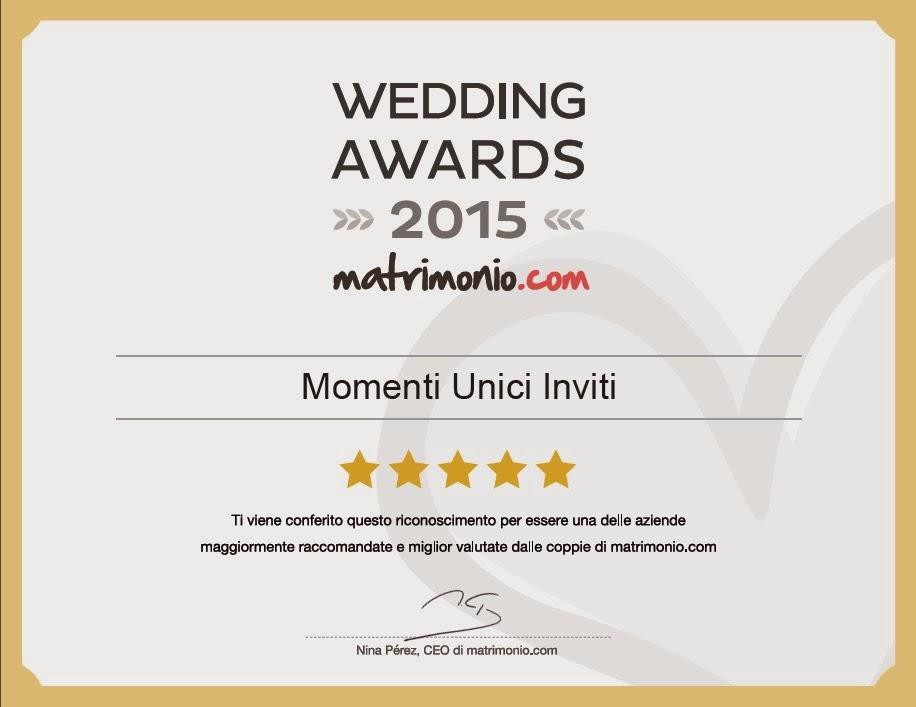 wedding%2Bawards%2B15 Abbiamo vinto il Premio Wedding Awards 2015Premi