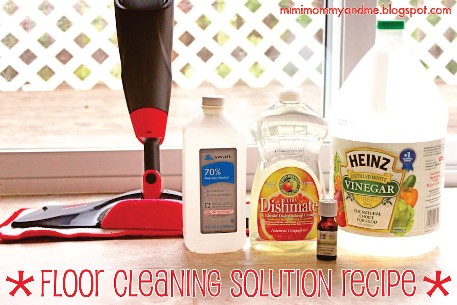 Floor Cleaning Solution Recipe Mimi Mommy And Me Floor