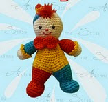 http://www.ravelry.com/patterns/library/amigurumi-crochet-pattern-little-clown