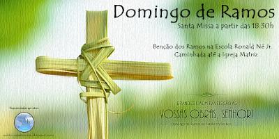 Domingo de Ramos em Almino Afonso