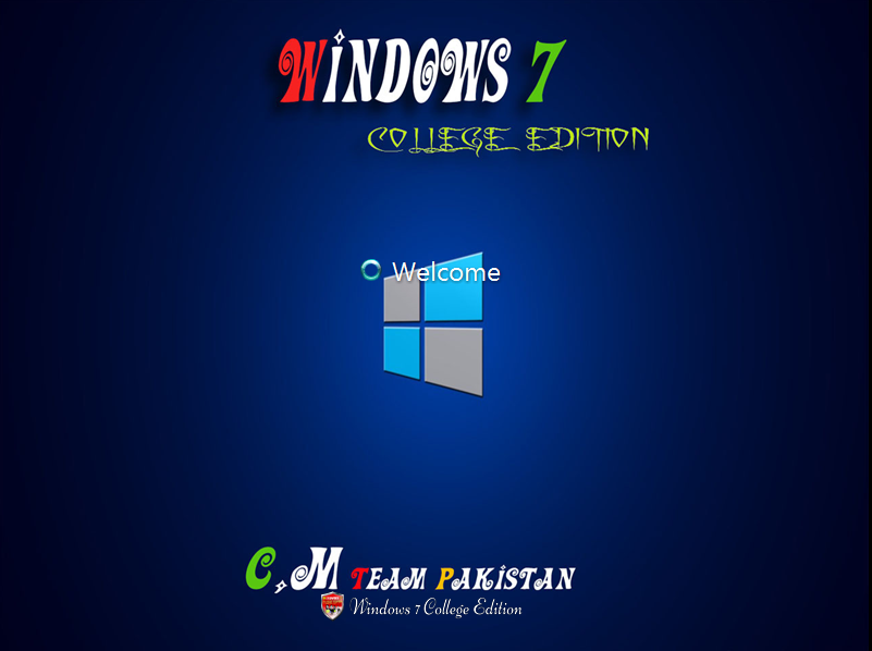 windows 7 college edition 2017 lite x64 bit by c m team get into pc. Black Bedroom Furniture Sets. Home Design Ideas