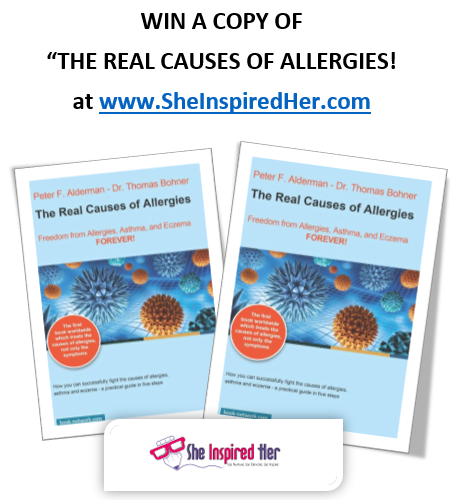 WIN a FREE Paperback Copy of 'The Real Causes of Allergies'