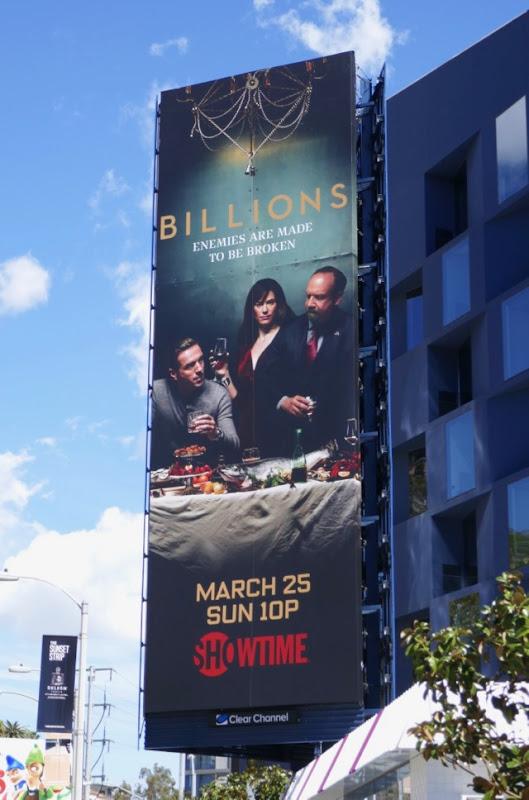 Billions season 3 billboard