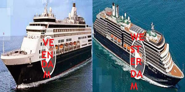 Cruise ships of Holland America Line