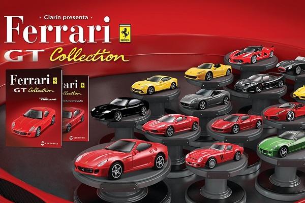 colección autos a escala Ferrari GT Collection de Clarín