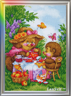 Cross-stitch Lan Svit D-006 «At My Granny's Place»