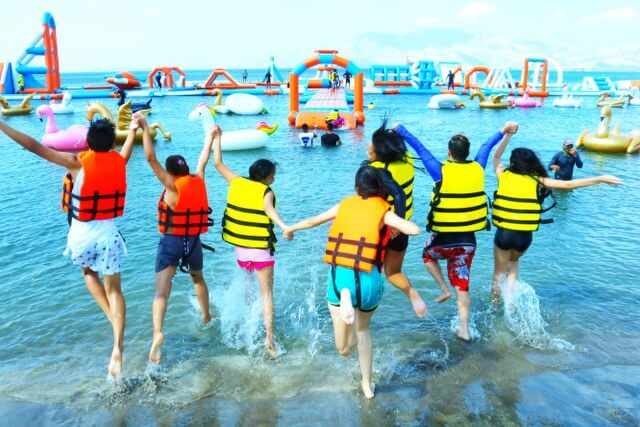 Beach Resort in Zambales entrance