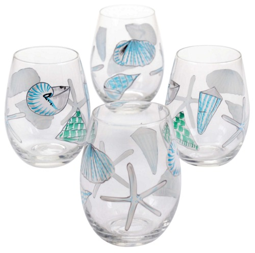 Seashell Drinking Glasses