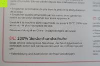 Info: WHITE LOTUS Sexy SEIDEN-HANDSCHUHE Kleidung für Frauen | Elegante Rohseide zur Isolierung der Hände und Entzündungs-Schutz ohne sie zu zeigen | Präsentiert in luxuriöser Geschenk-Box - Grau