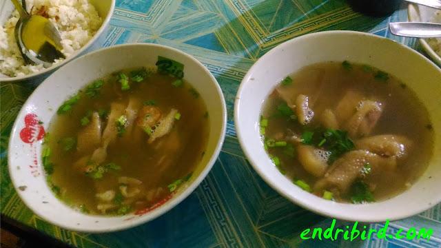 Sop Ayam Pak Min Klaten Kuliner Khas Klaten
