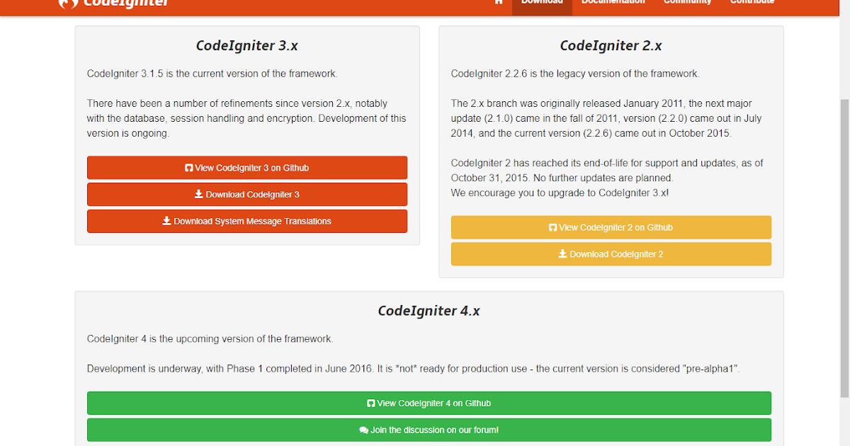 Tutorial Framework CodeIgniter 3 Lengkap Step by Step