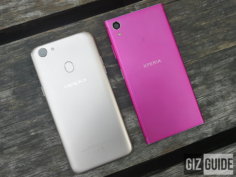 OPPO F5 vs Sony Xperia XA1 Plus Specs Comparison