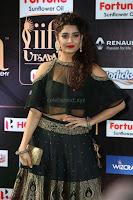 Ritika Singh in a Ethnic Deep Neck Dark Green Choli Ghagra at IIFA Utsavam Awards March 2017 ~ 056.JPG