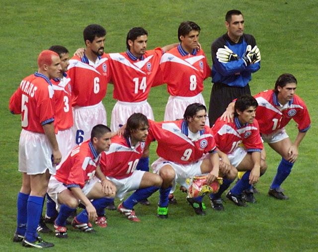 Formación de Chile ante Brasil, Copa del Mundo Francia 1998, 27 de junio