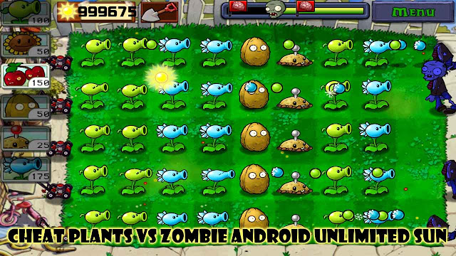 Cheat plants vs zombie android unlimited sun