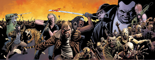 the walking dead all out war comic