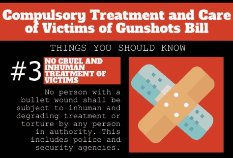 Senates Passes The Compulsory Treatment and Care of Victims of Gunshots Bills In Nigeria