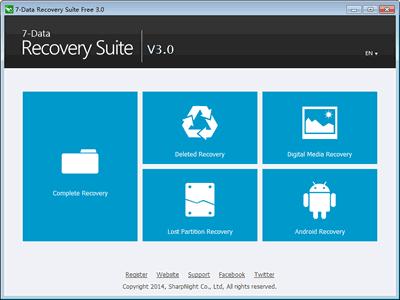7-Data Recovery Suite Enterprise 3.0 Final Portable,Chương trình phục hồi dữ liệu cao cấp