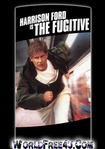 Poster Of The Fugitive (1993) Full Movie Hindi Dubbed Free Download Watch Online At worldfree4u.com