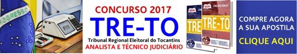 Apostila concurso TRE-TO 2017