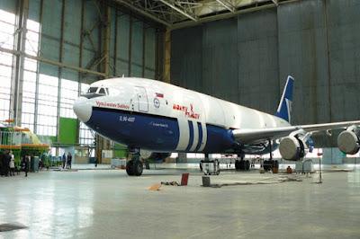 Pesawat Kiamat Rusia Ilyuhsin Il-96-400 Siap Beraksi