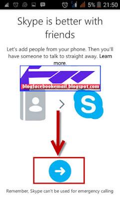 cara daftar akun skype tanpa email