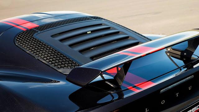 Lotus Exige 350 Edición Especial - Cuerpo aerodinámico