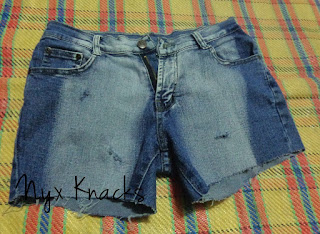 DIY Grunge Shorts