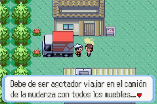 Pokémon Zafiro - Español - Captura 3