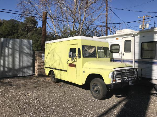 1967 International 4x4 Ambulance