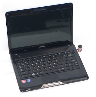 Laptop Toshiba Satellite T135 Second di Malang