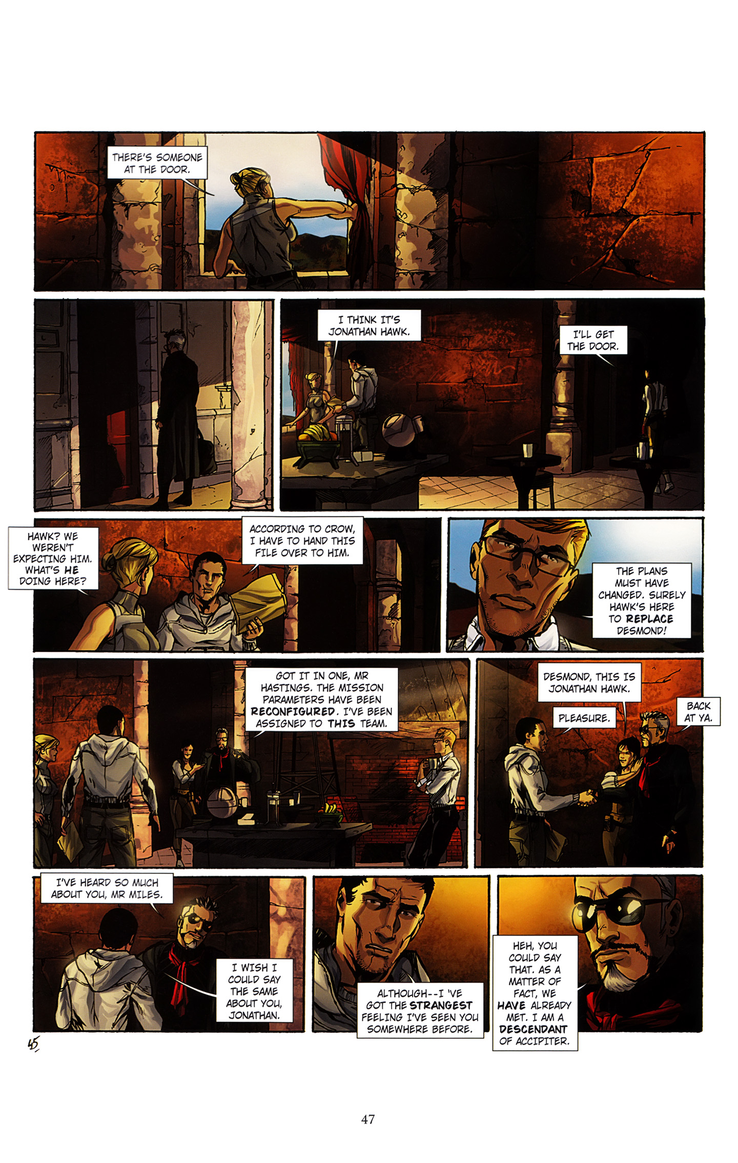 Read online Assassin's Creed (2012) comic -  Issue #3 - 51