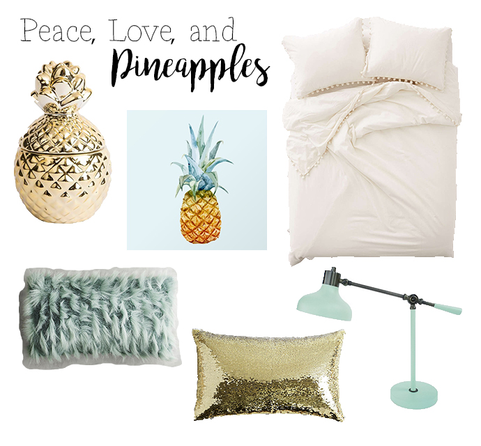 Decor Love Peace Love And Pineapples The Wine Chronicles