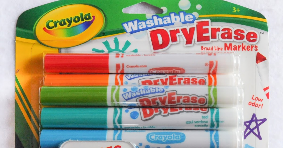 12 count crayola washable dryerase markers what s inside the box