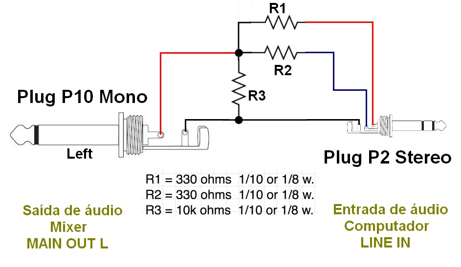 Xlr To 1 4 Mono Wiring Diagram : Wiring diagram xlr to mono jack cables and connectors