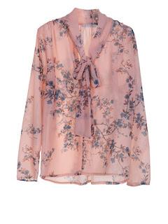 Camicia rosa a fiori marca Please