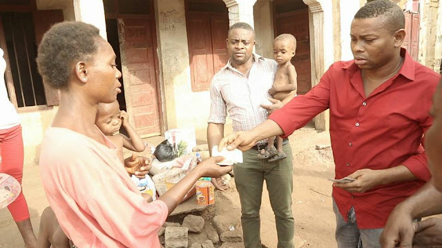 Malnourished children get surprise aid