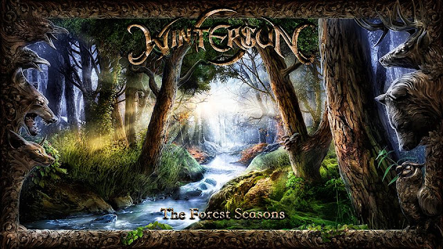 Wintersun - The Forest Season Album Cover