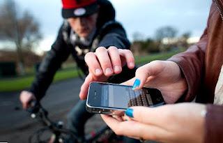 roubo de celular