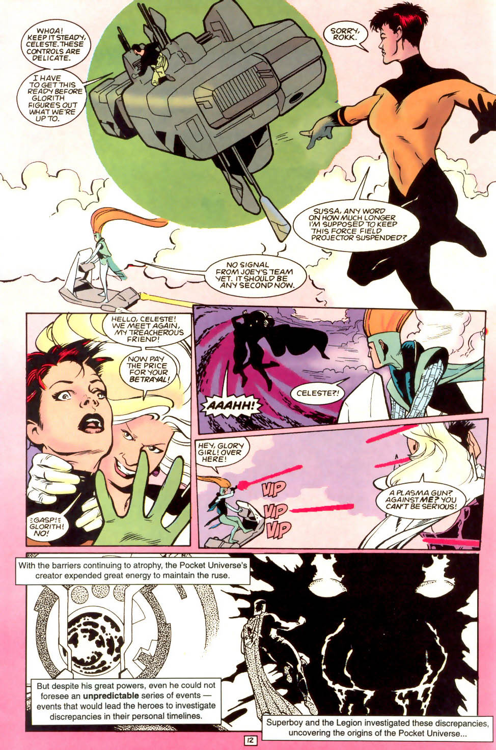Legion of Super-Heroes (1989) 53 Page 12