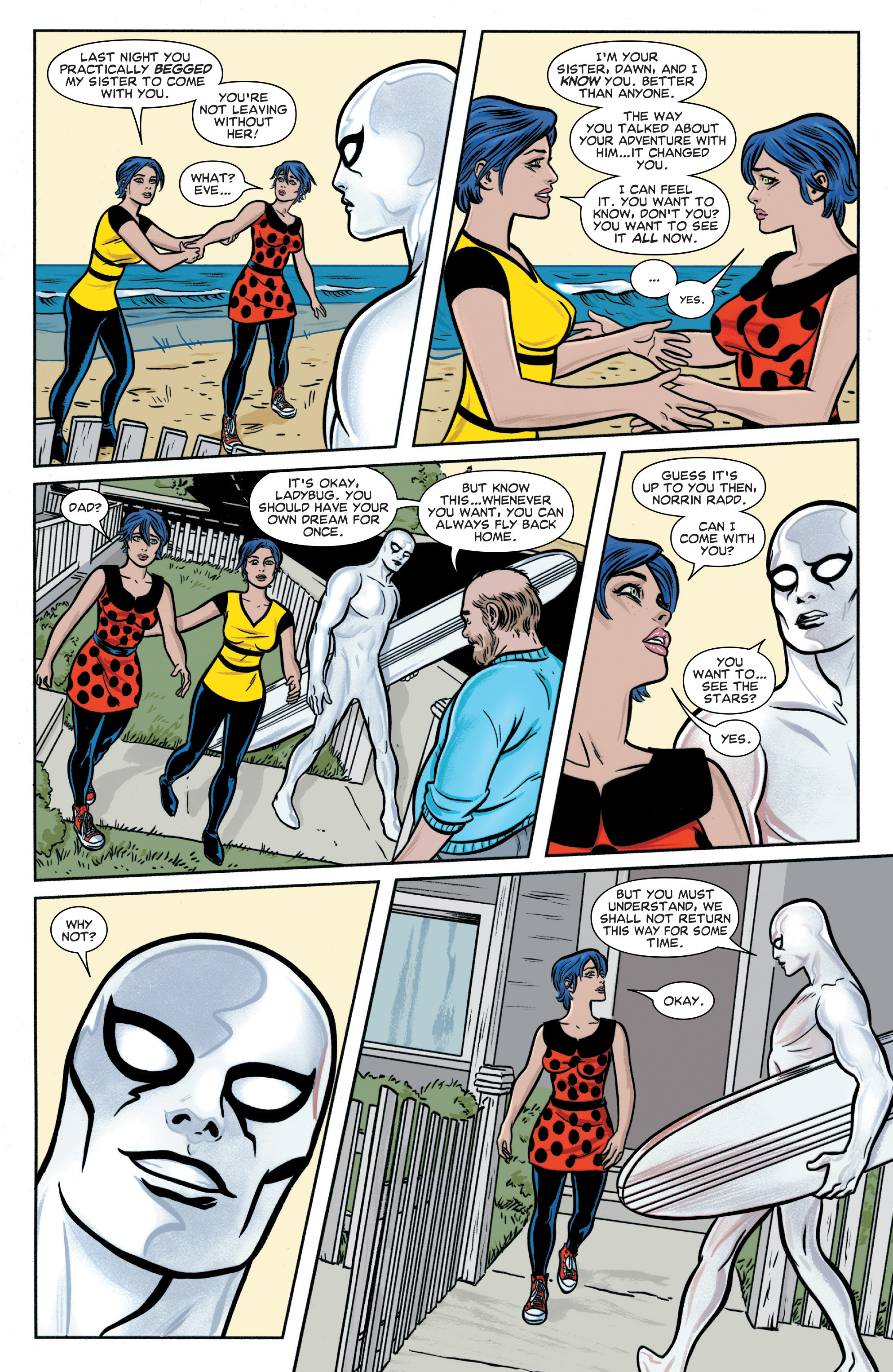 Read online Silver Surfer (2014) comic -  Issue #5 - 18