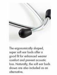 Super Soft Ear Tipe Stetoskop ERKA Classic