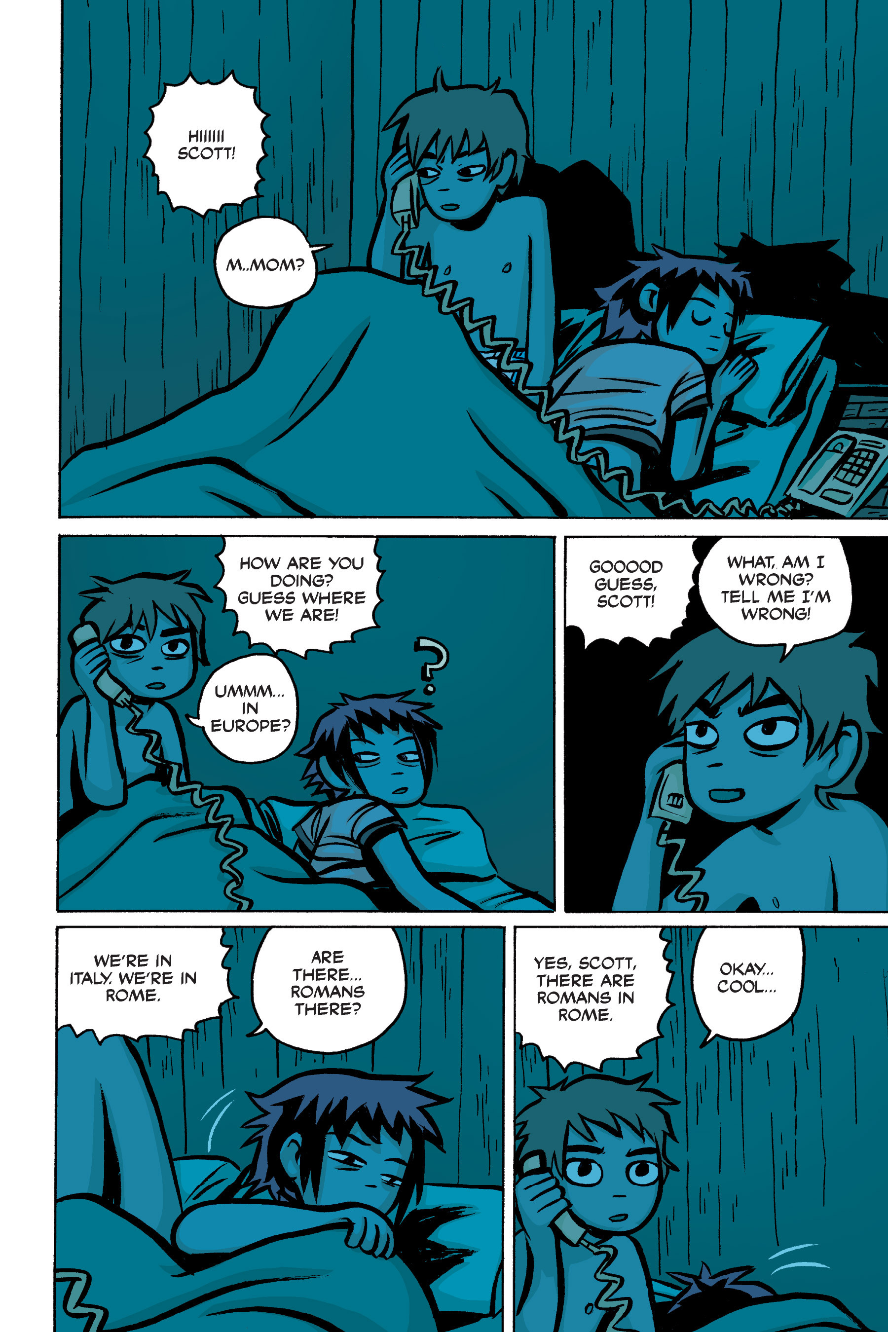 Read online Scott Pilgrim comic -  Issue #2 - 85