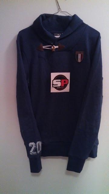 Puma Italy Azzurri Hoodie Sweater by SoccerPro