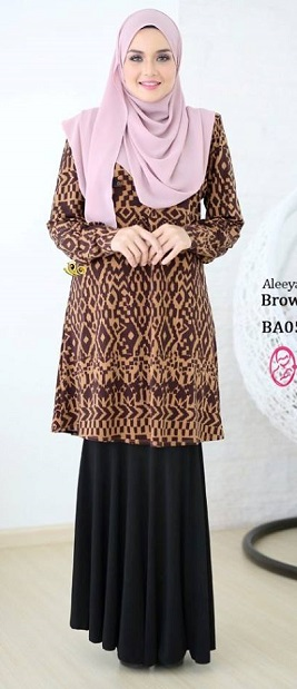 NBG002 BLOUSE ALEEYA III (NURSING FRIENDLY)