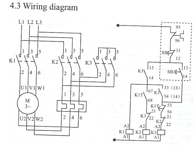 star delta wiring diagram electrical engineering blog