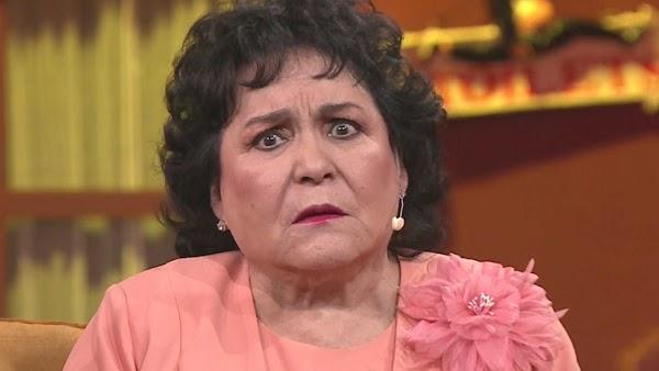 Ya son 300 mil firmas que  piden que Carmen Salinas termine en prisión. ¿Estas de acuerdo?