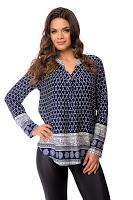 Bluza Octavia Bleumarin • Bluze si Camasi