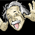 Crazy Albert Einstein Free Facebook Profile Cover
